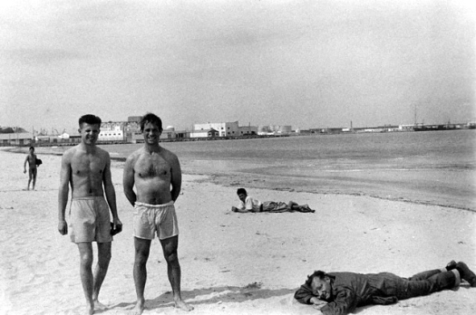 Peter Orlovsky, Jack Kerouac y William Burroughs